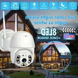 1080P Home Outdoor Camera Two-way Audio Humanoid Auto Tracki
