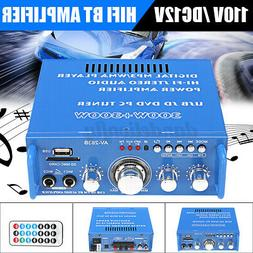 110V 600W HIFI Audio Stereo Power Amplifier bluetooth FM Rad