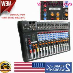 12 Channel Professional Live Studio Audio Mixer CT-120S USB