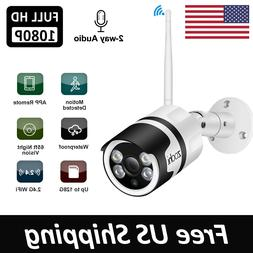 ANRAN 1080P Wireless WIFI Video HD Home Security IP Cameras