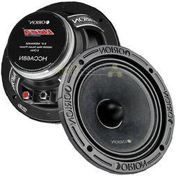 "2 Orion Audio 1400 Watt 6.5"" HCCA Mid Range Bass Loud Speake"
