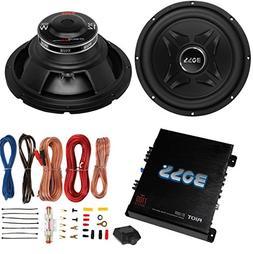 "2) Boss CXX12 12"" 2000W Car Audio Power Subwoofer Sub+ Mono"