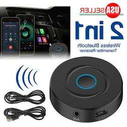2-IN-1 Bluetooth 5.0 Transmitter Receiver Wireless 3.5mm Jac