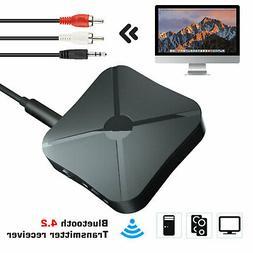 2-in-1 Bluetooth Wireless Audio Aux RCA 3.5mm Adapter Transm
