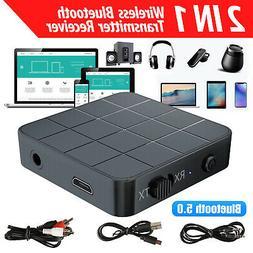 2in1 Bluetooth5.0 Wireless Audio Transmitter Receiver HIFI M