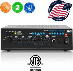 2x120 watt home audio power amplifier portable