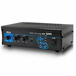 2x120 Watt Home Audio Speaker Power Amplifier - Portable Dua