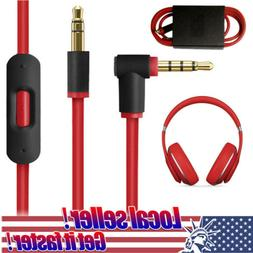 3.5mm Replacement Audio Cable L Cord For Beats By Dr Dre Hea