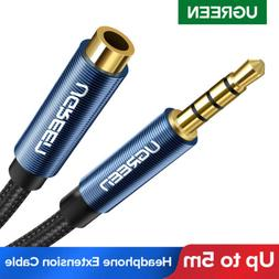 Ugreen 3.5mm Stereo Audio Extension Cable Auxiliary Adapter