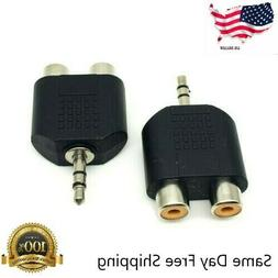 3 5mm stereo male plug to 2