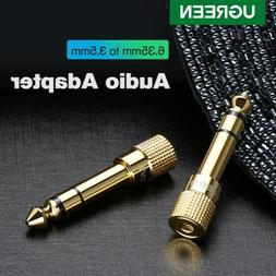 UGREEN 6.35mm 1/4 inch Male to 3.5mm 1/8 inch Female Stereo