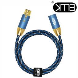 EMK 3-Pin Audio XLR Cable Amplifier Balanced Lead Mixer Spea