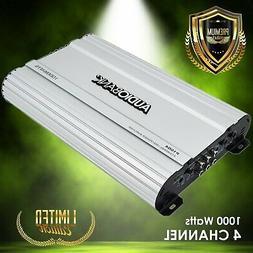 Audiobank 4 Channels 1000 WATTS Bridgedable Car Audio Stereo