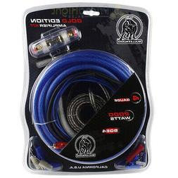 Bullz Audio 4 Gauge Amp Kit Car Amplifier Installation Power