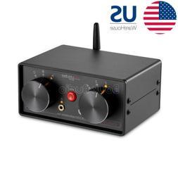 Mini 4-way Stereo Audio Switcher Box 3.5mm Selector Splitter
