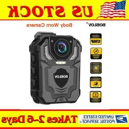 4K HD 1296P Body Worn Camera IR Night Vision Pocket Security