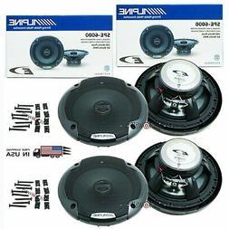 """4x ALPINE SPE-6000 6.5"""" CAR AUDIO 480W 2-WAY SILK TWEETERS C"""