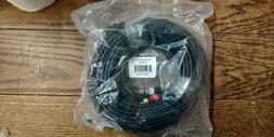 50 ft 3.5mm Stereo Plug Male to 2 RCA Male Stereo Audio Jack