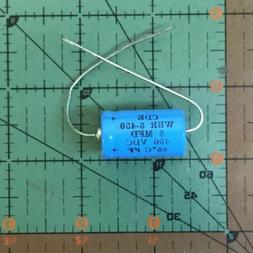 5uF 450v Cornell Dubilier Axial Capacitor WBR5-450 Industria