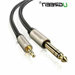 Ugreen 6.35mm 1/4inch to 3.5mm Cable 1/8 Stereo Audio Jack P