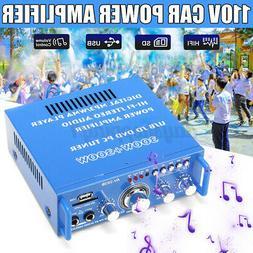 600W bluetooth Amplifier Audio Home Stereo AMP FM Radio 2 Ch