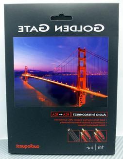 Audioquest - Golden Gate RCA-to-RCA