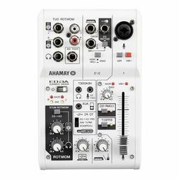 AG03 Multipurpose 3-Ch Live Recording Webcast Mixer USB Audi