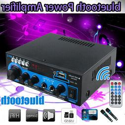 AK-550 800W 2Channel bluetooth Home Stereo Power Amplifier A