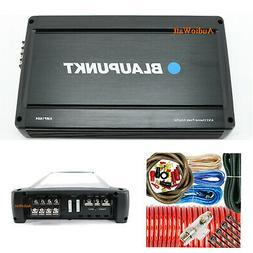 BLAUPUNKT AMP1604 1500W CAR AUDIO 4 CHANNEL AMP AMPLIFIER +