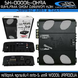 AUDIOPIPE APHD-3000D-H2 Mono Fullrange Amplifier 3000W Rms C
