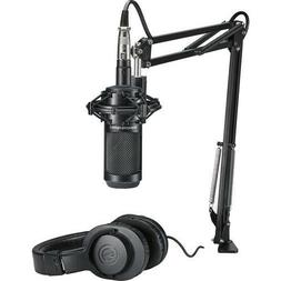 Audio-Technica AT2035 Studio Microphone Pack with ATH-M20x,