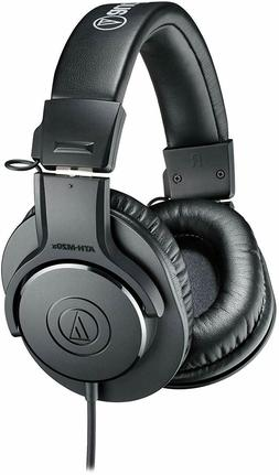 Audio-Technica ATH-M20x Professional Studio Monitor Headphon