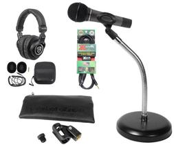 Audio Technica ATM510 PC Podcasting Podcast Microphone+Goose