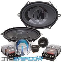 "Memphis Audio 15-PRX570C 5"" x 7"" 2-Way Component Speakers"