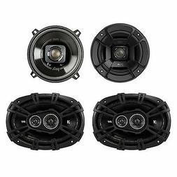 "Polk Audio 5.25"" 300W Car/Marine ATV Speakers, Pair + 6 x 9"""