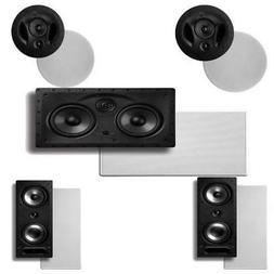 Polk Audio 90-RT In-Ceiling Speakers  Plus Polk Audio 265RT