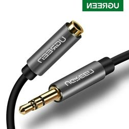 UGREEN 3.5mm Stereo Audio Extension Cable Male to Female for