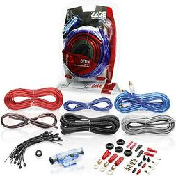 BOSS Audio Kit 4 Gauge Amp Amplifier Install Wiring Power Su