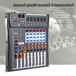 Professional 6CH Live Stage KTV Mixing Studio Audio Sound Mi