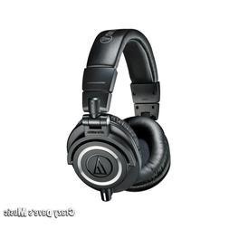 Audio-Technica ATH-M50X Professional Monitor Headphones Blac