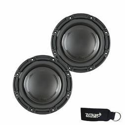 "Polk Audio -Two DB842DVC 8"" Dual 4-Ohm Voice Coil Subs - Mar"
