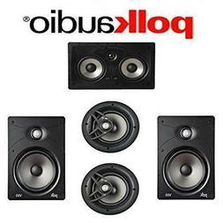 Polk Audio V85 Vanishing Series 5.0 In-Wall / In-Ceiling Hom