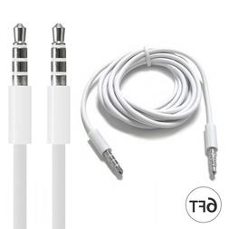 6FT 3.5mm Auxiliary Aux Male to Male Stereo Audio Cable Cord