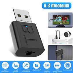 Bluetooth 5.0 Transmitter & Receiver Audio Wireless Adapter