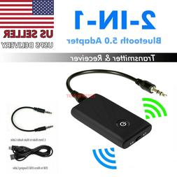 Bluetooth 5.0 Transmitter Receiver 2 IN 1 Wireless Audio 3.5