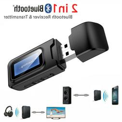 Bluetooth Audio Stereo Display Receiver Transmitter for Car