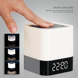 MUSKY Bluetooth Speaker, Night Light Wireless Speaker Portab