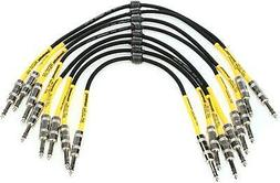 Pro Co BP-1.5, 8-Pack Excellines Balanced Patch Cable - 1.5'