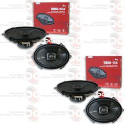 NEW 4 x POLK AUDIO 5x7 2-WAY CAR AUDIO BOAT MARINE SPEAKERS