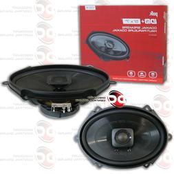 NEW POLK AUDIO 5x7 2-WAY CAR AUDIO BOAT MARINE COAXIAL SPEAK